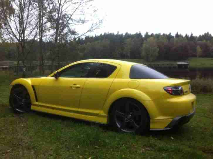 Mazda RX-8 231 PS WITH LPG 2003 YELLOW