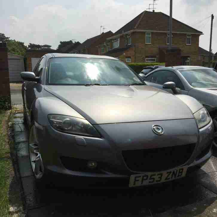 Mazda RX-8 Coupe 231 Grey