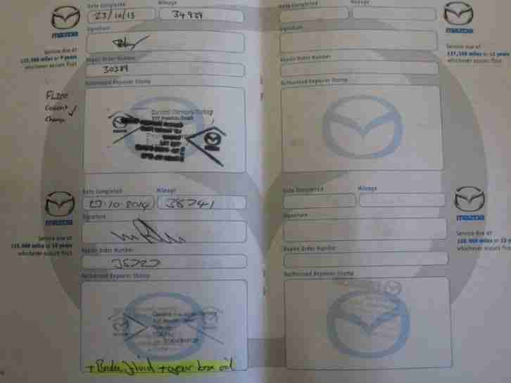 Mazda RX-8 RX8 231PS 1 OWNER 10 SERVICE STAMPS
