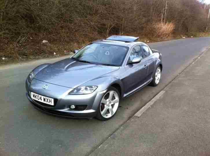 Mazda Rx8 04 Reg  Cheaper Tax  81k Miles Black Leather And