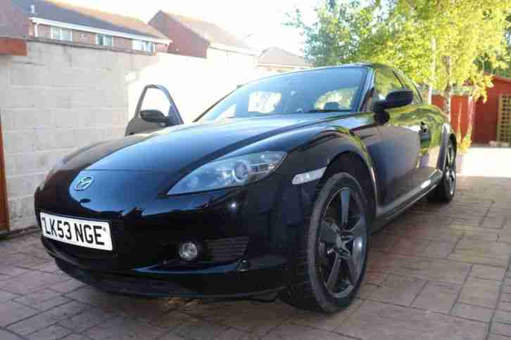 mazda rx8 231 bhp 6 speed for spares or repair car for sale. Black Bedroom Furniture Sets. Home Design Ideas