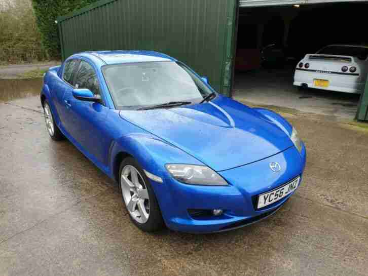 Mazda RX8 Coupe. Mazda car from United Kingdom