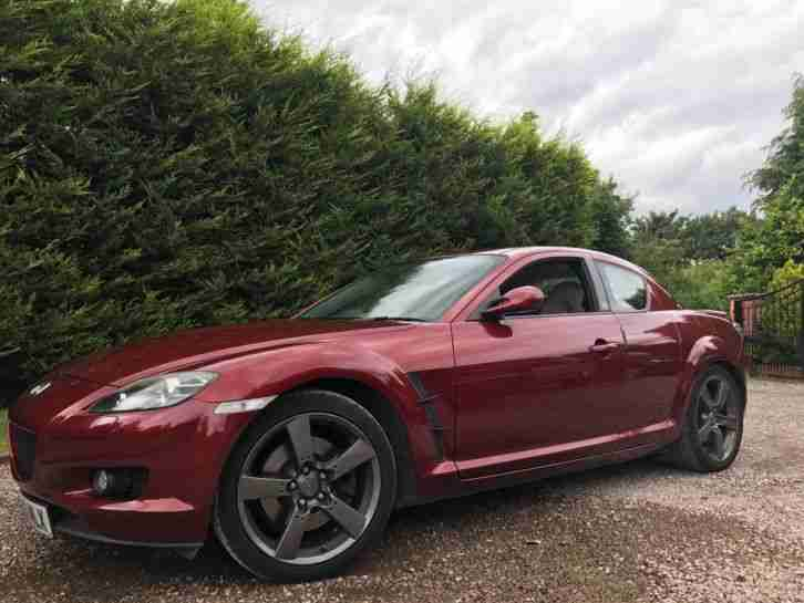 Mazda RX8 Evolve Copper Red | Rotary RevsRebuilt Engine | FSH | 10 MONTHS MOT