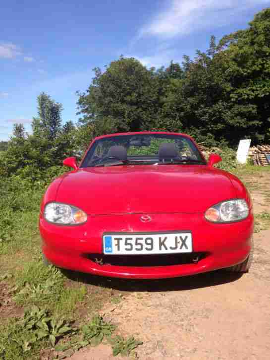 Mazda mx5 convertible with hard top
