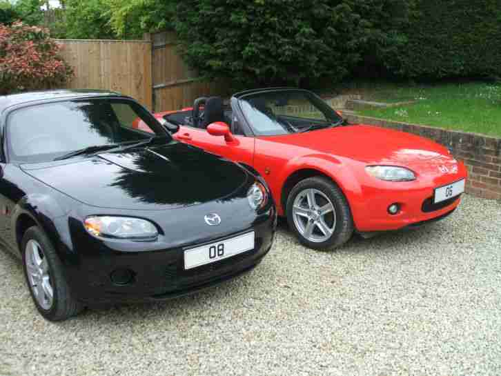 mazda mx5 mk3 roadster coupe 2008 2006 car for sale. Black Bedroom Furniture Sets. Home Design Ideas