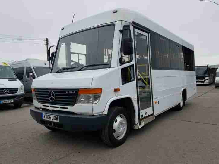 Mercedes 814D Vario, UVModular, 25 seat 8 W C elec W C lift immaculate example!!
