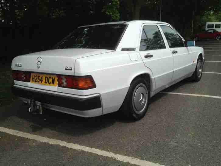 Mercedes benz 190 2 5 diesel car for sale for 190 mercedes benz for sale