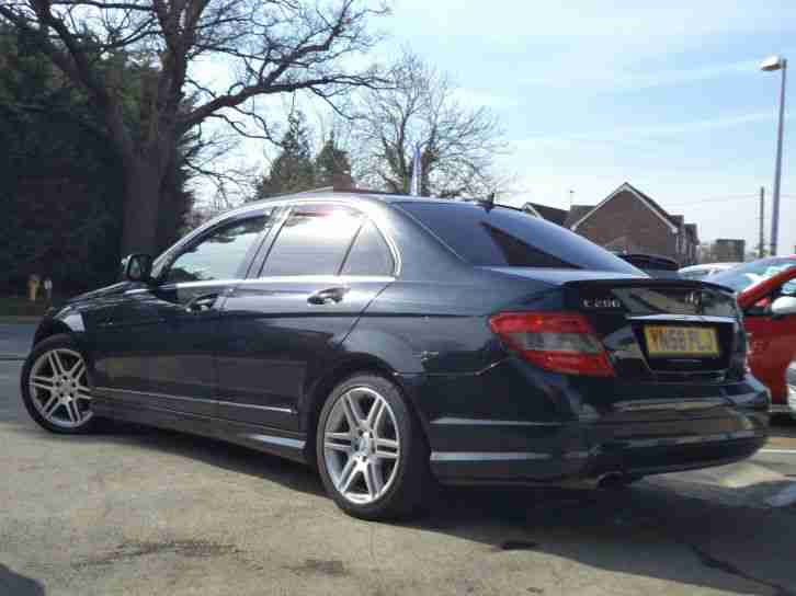 Mercedes-Benz C200 2.1TD auto 2008MY Sport Satnav Leather Panoramic Roof