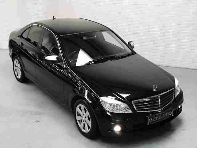 mercedes benz c200 se cdi auto diesel black car for sale. Black Bedroom Furniture Sets. Home Design Ideas