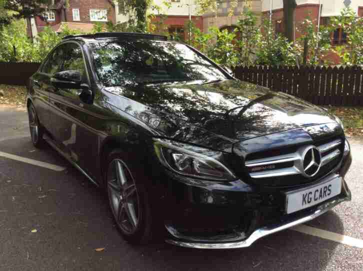 Mercedes Benz C220. Other car from United Kingdom