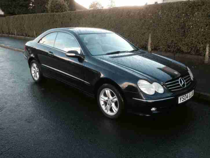 mercedes benz clk 270 2 7td clk cdi avantgarde coupe automatic 2004. Black Bedroom Furniture Sets. Home Design Ideas