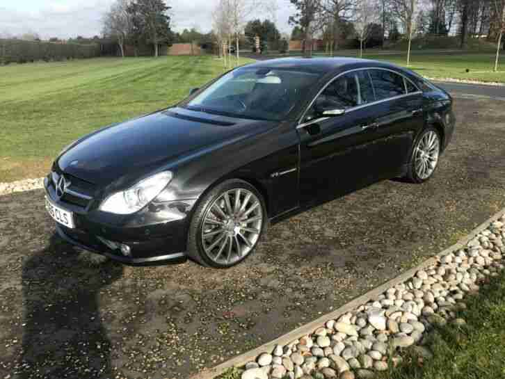 Mercedes Benz CLS 5.5 CLS55 AMG 4dr satnav heated leather fully loaded