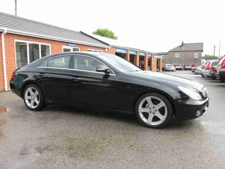 mercedes benz cls320 3 0cdi 7g tronic 320 only 54 000 miles 57 reg. Black Bedroom Furniture Sets. Home Design Ideas