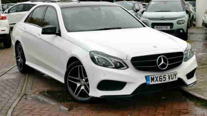 Mercedes Benz E. Other car from United Kingdom
