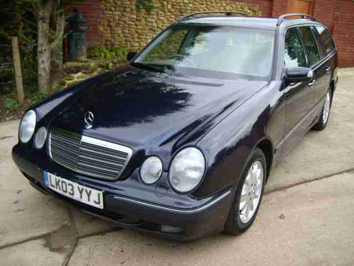 Mercedes benz e class e320 elegance 5dr 7 seater model for Mercedes benz seven seater