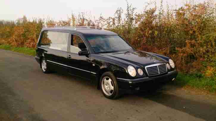 Mercedes benz e240 elegance hearse 1999 2 owners for Used mercedes benz hearse for sale