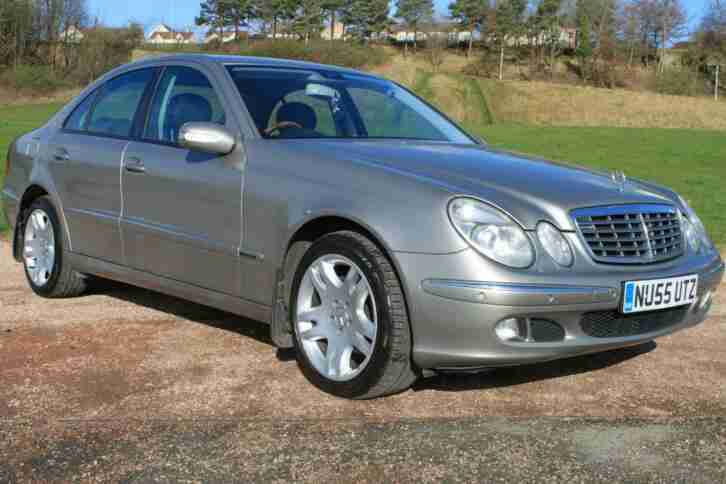 Mercedes Benz E320. Mercedes-Benz car from United Kingdom