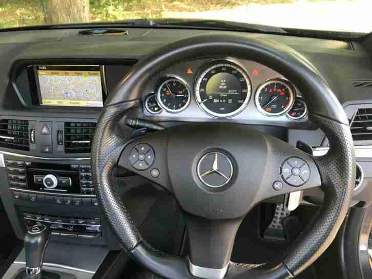 Mercedes-Benz E350 CDI Sport 3.0 Auto Convertible, Very Low Milage