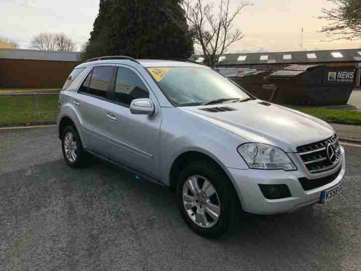 Mercedes Benz ML320 3.0TD CDI 7G Tronic SE