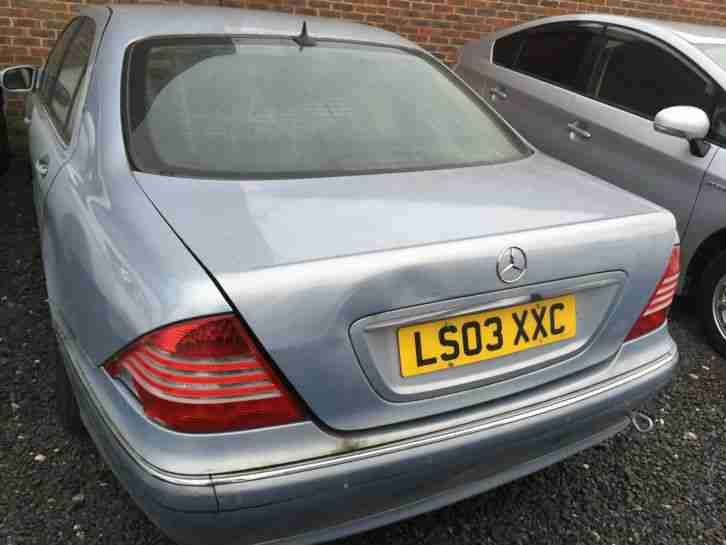 Mercedes Benz S Class Spares or Repairs