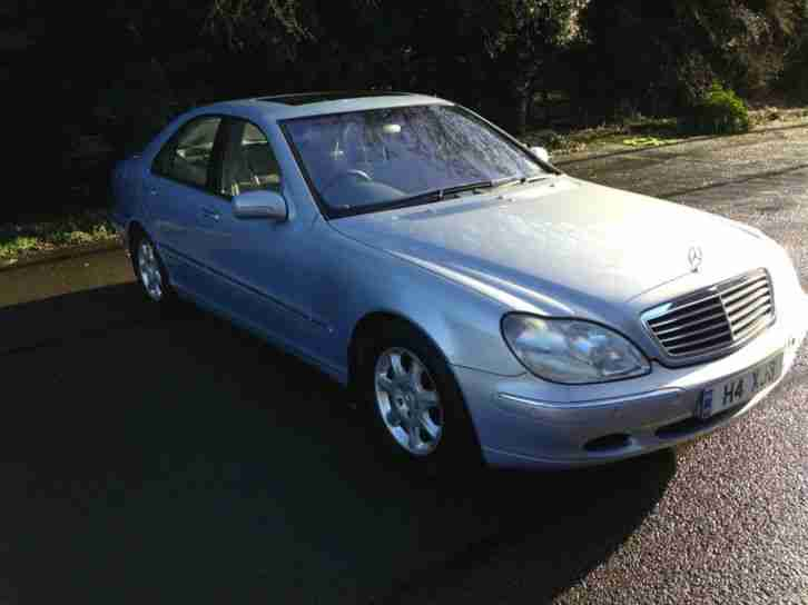 Mercedes benz s320 3 2 auto 2001my s320 car for sale for Mercedes benz s320 price