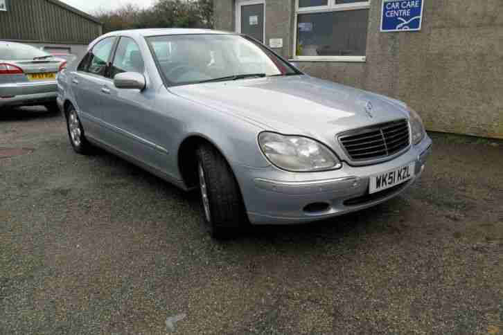 Mercedes benz s320 3 2turbo diesel 3244cc auto 2001my s320 for Mercedes benz s320 price