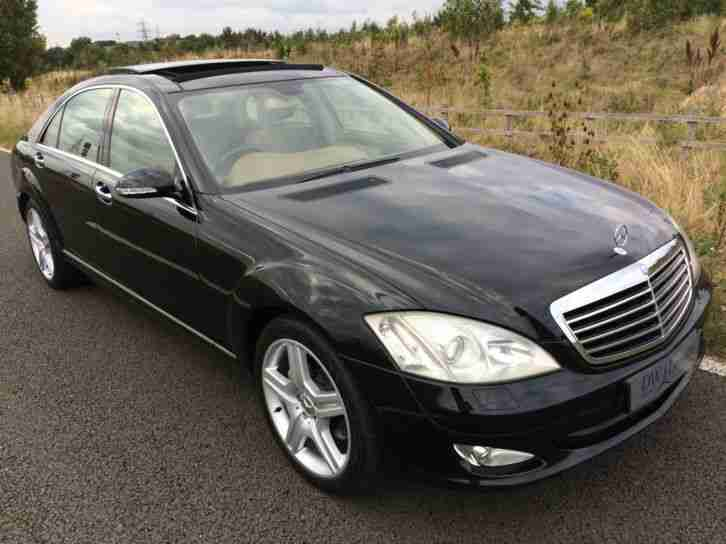 Mercedes benz s320 cdi diesel auto lwb 2006 56 with pan for Mercedes benz s320 price