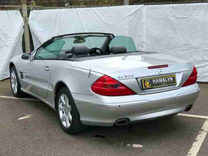 Mercedes-Benz SL500 5.0 auto SL500, Low Mileage, Glass Roof, Immaculate