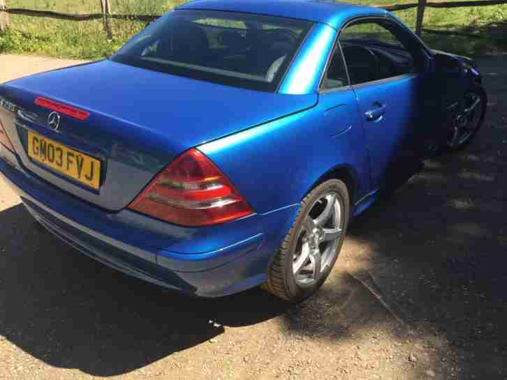 Mercedes-Benz SLK230 Kompressor 2.3 auto SLK230 Kompressor Blue low mileage