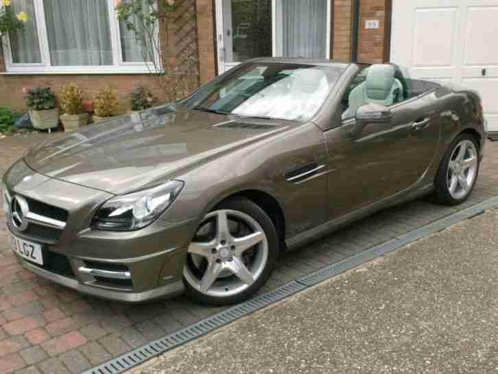 Mercedes benz slk250 amg 2 1cdi 204bhp blueefficiency for Mercedes benz slk250