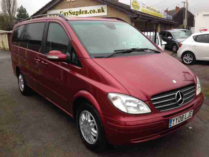 mercedes benz viano 2 1cdi 150bhp long ambiente car for sale. Black Bedroom Furniture Sets. Home Design Ideas