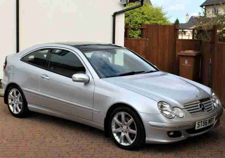 Mercedes C200 Kompressor SE Auto, Evolution