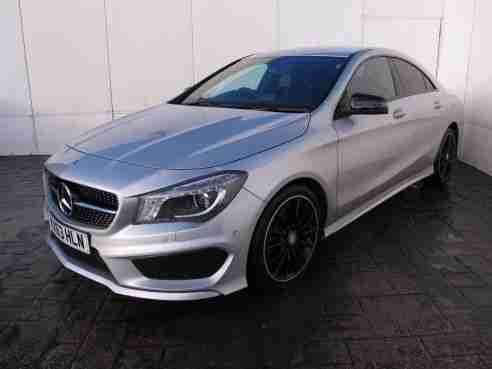 Mercedes cla class 180 amg sport 1 6 122 bhp 4dr saloon for Mercedes benz cla for sale uk