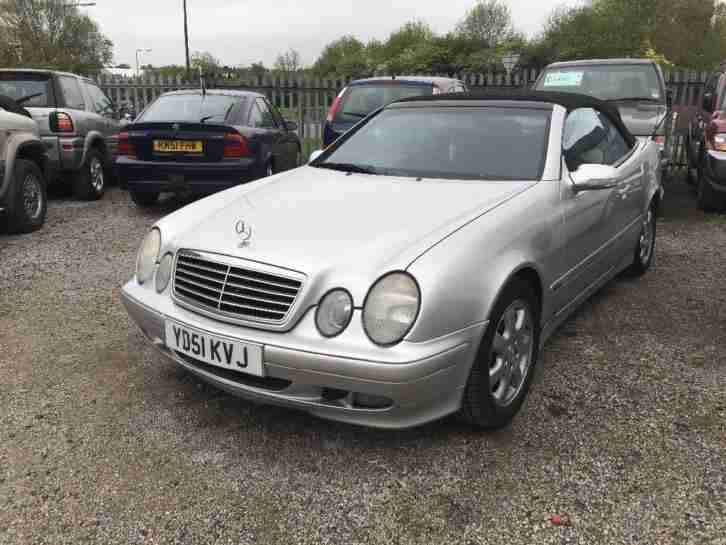 Mercedes CLK 2.0. Mercedes-Benz car from United Kingdom