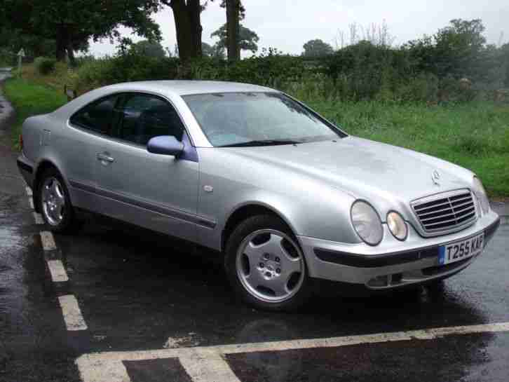 Mercedes clk 200 elegance auto 1999 t reg low mileage for Cheap mercedes benz cars