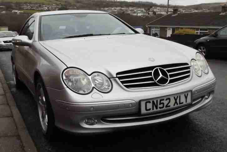 mercedes clk 270 cdi avantgarde 2003 52 plate quantum re map to. Black Bedroom Furniture Sets. Home Design Ideas