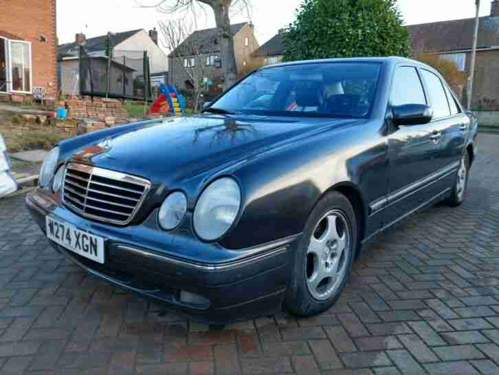 Mercedes E Class E280 (W210), offered for