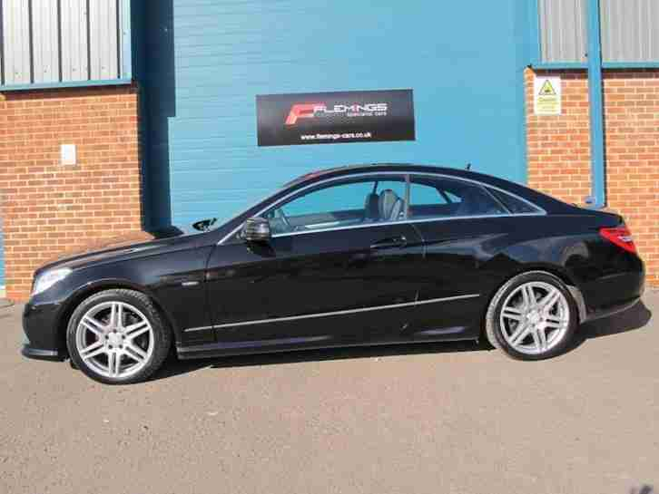 Mercedes e class e350 cdi blueefficiency sport coupe 3 0 auto diesel - Mercedes classe e coupe 350 cdi ...