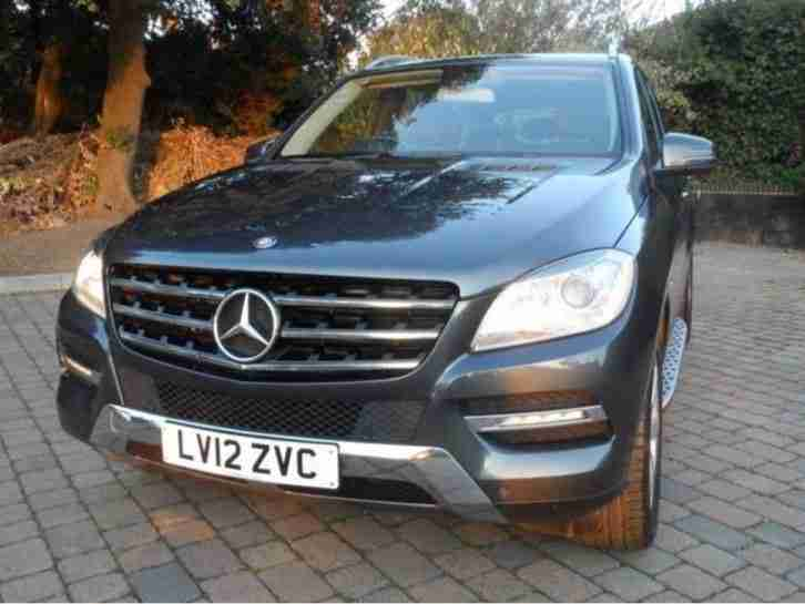 Mercedes ML250 Bluetec 2012
