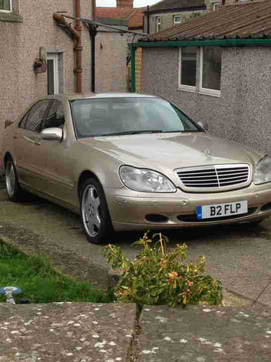 Mercedes S 500 5Ltr V8 Private plate AMG alloys swap px swop wink