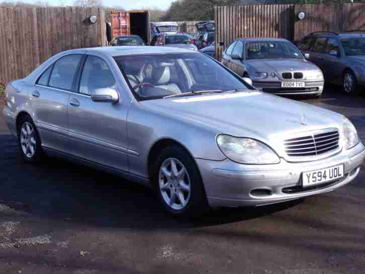 mercedes s500 v8 automatic 2001 y reg long mot full. Black Bedroom Furniture Sets. Home Design Ideas