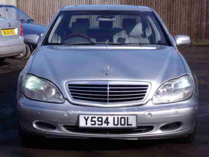 Mercedes s500 v8 automatic 2001 y reg long mot full for Mercedes benz cheapest model