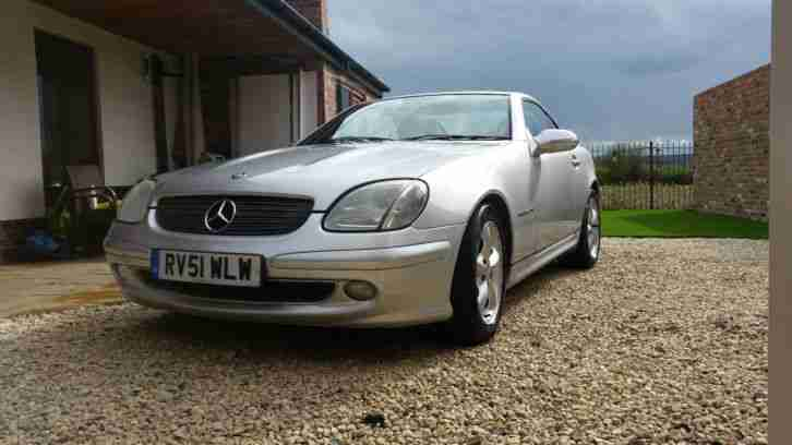 mercedes slk 200 kompressor convertible 2001 car for sale. Black Bedroom Furniture Sets. Home Design Ideas
