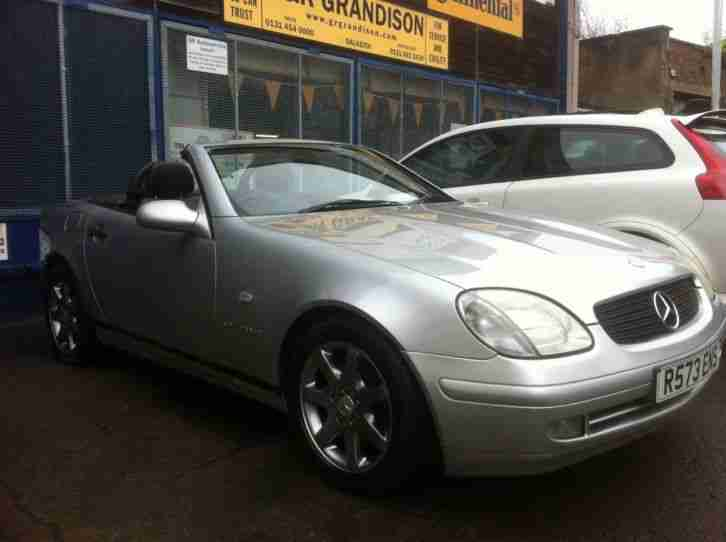 Mercedes SLK 230 Convertible 2295cc Automatic