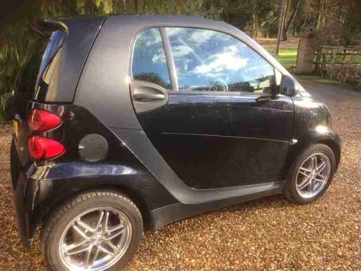 Smart Mercedes Car. Smart car from United Kingdom