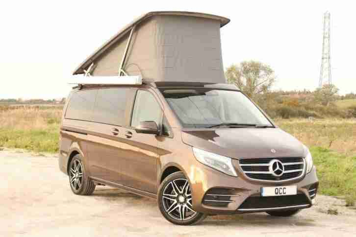 Mercedes V250 D. Mercedes-Benz car from United Kingdom