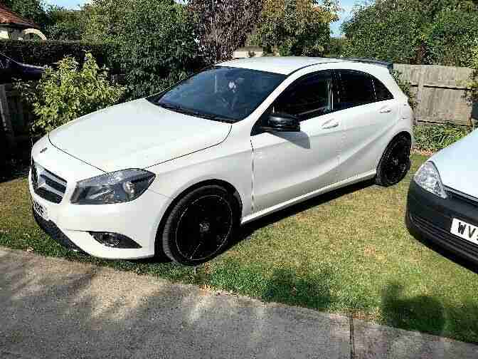 Mercedes benz A200 CDI sport Blue efficiency