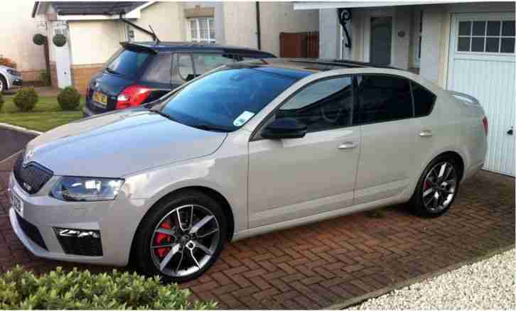 Skoda Meteor Grey Octavia VRS 2.0 TDi MKIII. car for sale