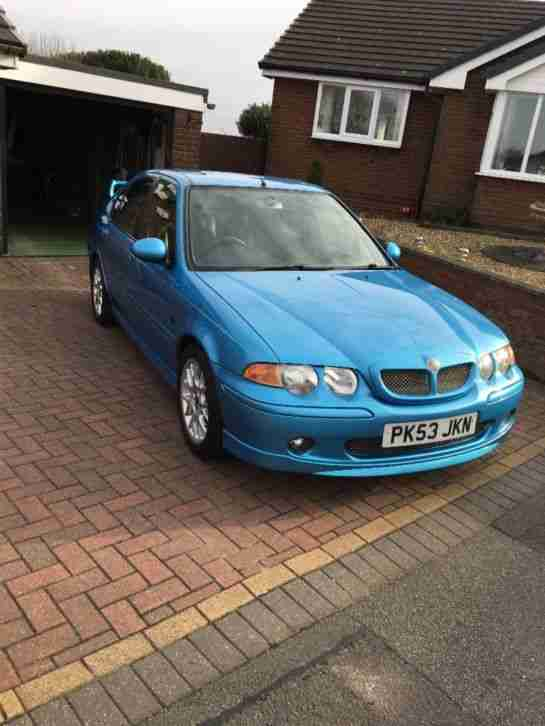 MG Zs 180. MG car from United Kingdom