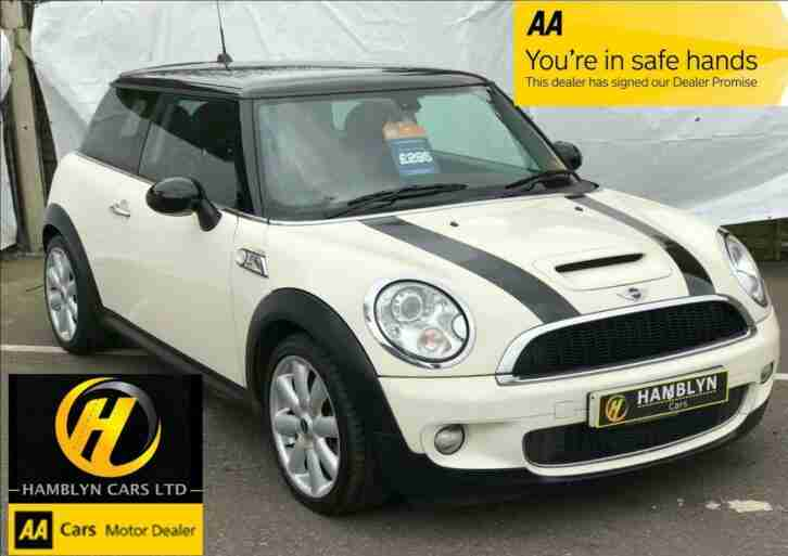 Mini 1.6 ( 175bhp ) ( Chili ) Cooper S, Leather Interior, Cruise, Bluetooth